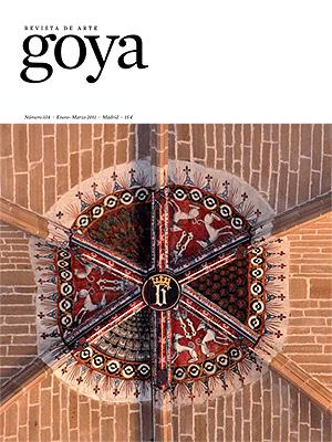 """""""Goya"""", Revista de Arte. Portada del número 334"""