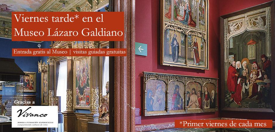 Visita gratis el Museo Lázaro Galdiano la tarde el primer viernes de cada mes