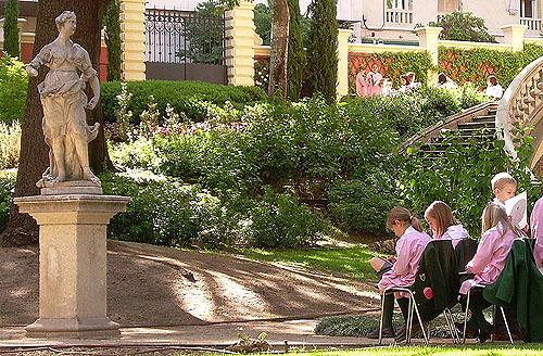 Campamentos de verano 2011 en el jardín del Museo Lázaro Galdiano