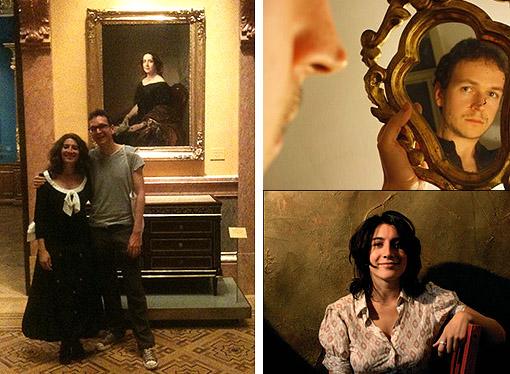 Veladas literarias en el Museo Lázaro. Vanesa Pérez -Sauquillo e Ignacio Vleming