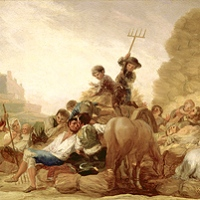 """Las mejores pinturas de Goya en el Museo Lázaro Galdiano (I): """"La Era o El Verano"""""""