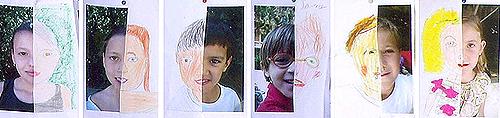 Taller de verano para niños en el Museo Lázaro. Trabajos de ediciones anteriores