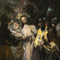 """Por primera vez el Museo Lázaro Galdiano expone en sus salas una obra del Museo del Prado: """"El Prendimiento de Cristo"""" de Francisco de Goya"""
