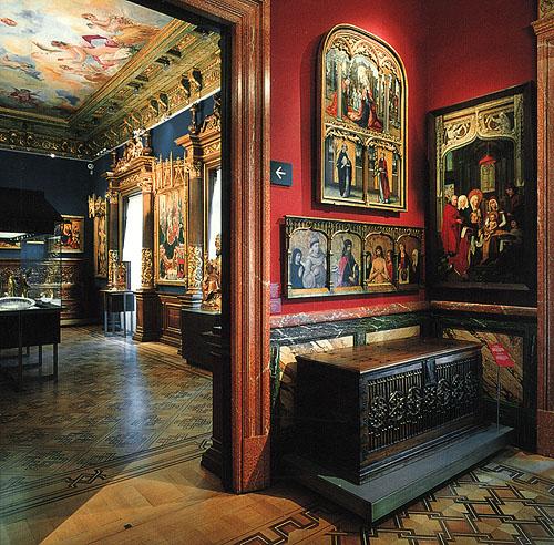 Imágenes de salas del Museo Lázaro Galdiano