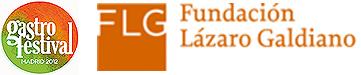 Logo de la Fundación Lázaro Galdiano y del Gastrofestival Madrid 2012