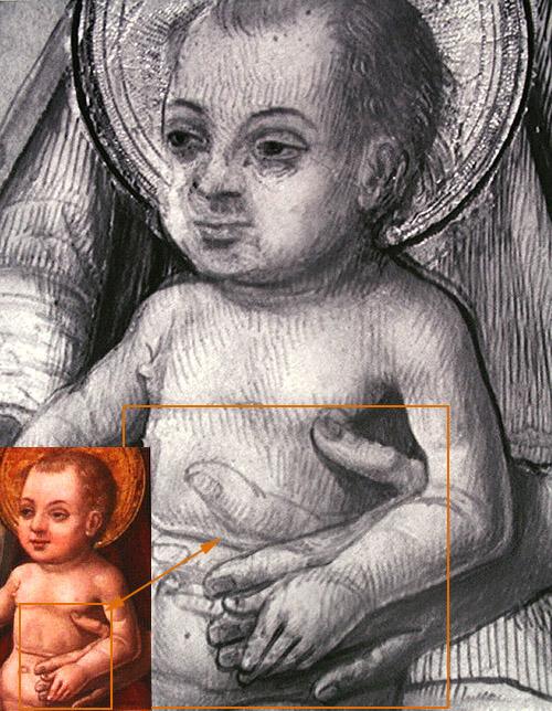 """Visita guiada especial al Museo Lázaro Galdiano """"Donde no llega la vista"""". Dibujos subyacentes, correcciones."""