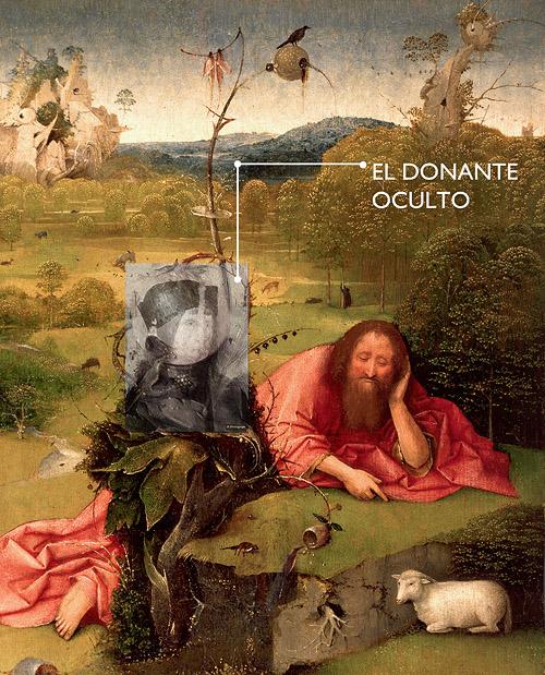 """Donante oculto en el cuadro de El Bosco """"Las meditaciones de San Juan Bautista"""". Visita guiada especial al Museo Lázaro Galdiano """"Donde no llega la vista. La investigación del Museo a tu alcance"""""""