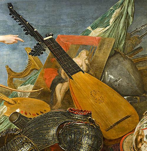 """Detalle de obra del Museo Lázaro Galdiano donde se celebrará el concierto gratuito """"El canto de las vihuelas"""" el Día de los Museos. Foto © Selenio 2012"""
