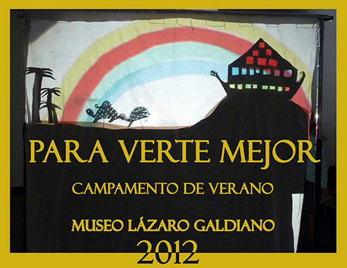 """""""Para verte mejor 2012"""" Campamento de verano - taller en Madrid. Museo Lázaro Galdiano"""