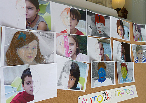 Campamento de verano en julio para niñas y niños en Madrid 2012. Museo Lázaro Galdiano
