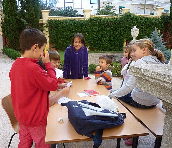 Campamento de verano en julio para niñ@s en Madrid 2012. Museo Lázaro Galdiano