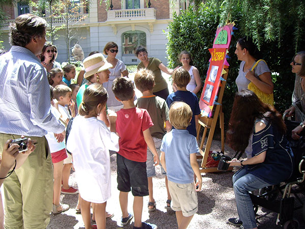 Campamento de verano en Madrid 2012. Museo Lázaro Galdiano. Para niñ@s. Imágenes