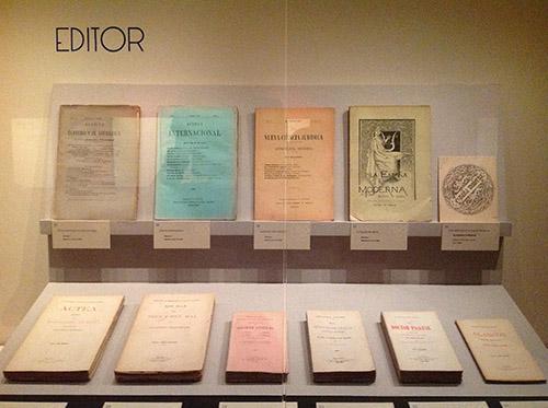 """José Lázaro como editor. Exposición """"Itinerario y memoria de José Lázaro. Editor, coleccionista, bibliófilo"""""""