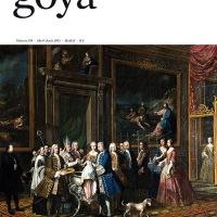 """Número 339 de la revista de arte """"Goya"""" ya disponible. Portada, sumario, resúmenes de los estudios publicados y las mejores imágenes"""