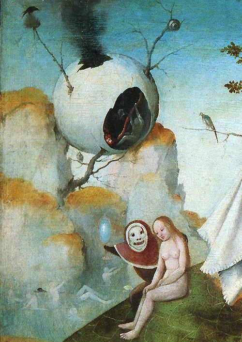 """Detalle de """"La visión de Tondal"""" del Museo Lázaro Galdiano"""