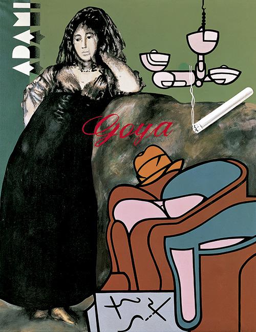 """Equipo Crónica: """"Goya y Adamis en el Salón"""". """"Goya contrastado"""" en el Museo Lázaro Galdiano"""