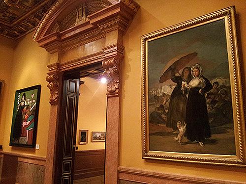 """""""Goya contrastado"""" en el Museo Lázaro Galdiano. Fotografía de Jose Mª Martín Écija"""