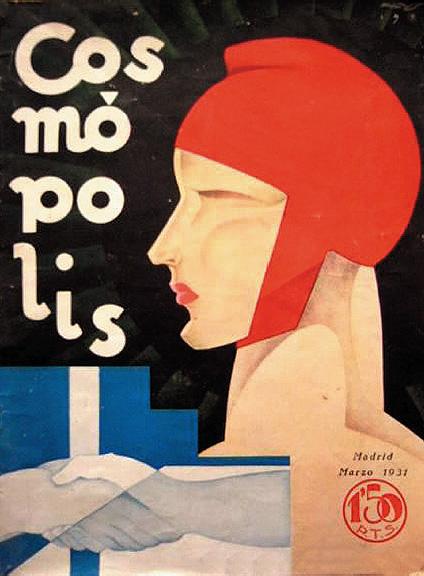 """Augusto: cubierta de """"Cosmópolis"""", marzo de 1931"""