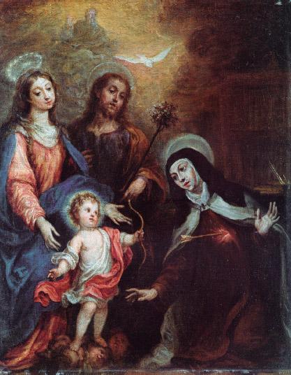 """Francisco Rizi: """"Transverberación de santa Teresa"""", c. 1675. Colección particular, Madrid. (Foto: Alcalá Subastas)."""