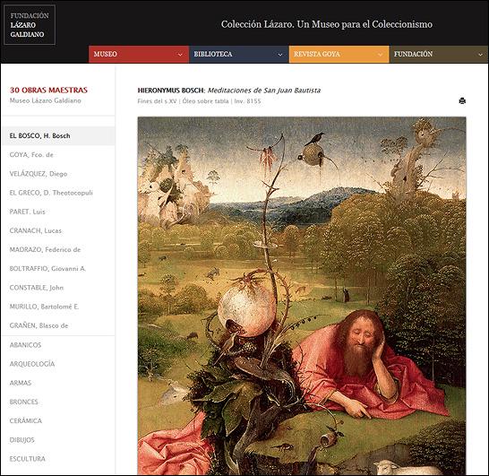 Imagen de la sección 30 obras maestras del Museo Lázaro Galdiano