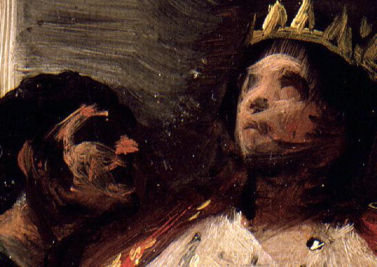"Goya: ""San Hermenegildo en prisión"" (detalle). Museo Lázaro Galdiano"