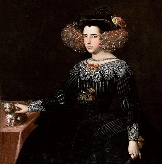 Luisa María Francisca de Guzman por Alonso Cano (atribuido)