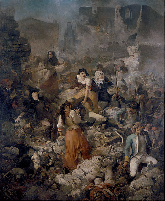 """Ramón Martí Alsina: """"La Compañía de Santa Bárbara"""", 1891. © MNAC – Museu Nacional d'Art de Catalunya, Barcelona. (Foto: Calveras/Mérida/Sagristà)"""