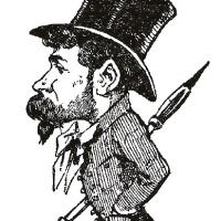 Biografía y obras destacadas en la Colección Lázaro del caricaturista Manuel Luque de Soria