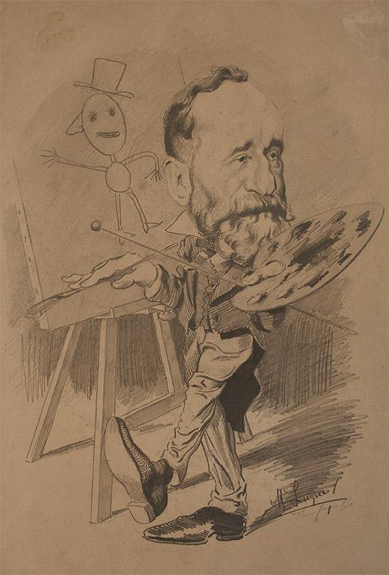 MANUEL LUQUE DE SORIA: Pierre Puvis de Chavannes. Museo Lázaro Galdiano