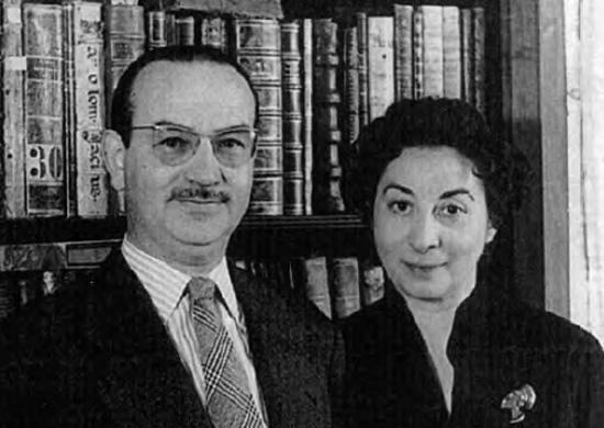 Rodríguez-Moñino y María Brey
