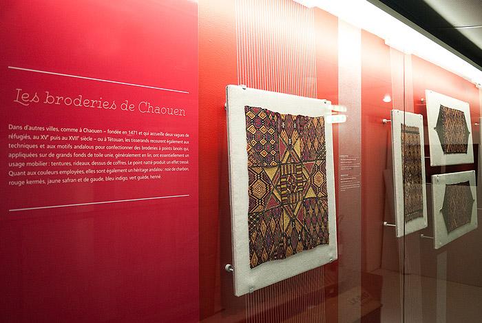 Exposición de la colección de sedas de al-Ándalus del Museo Lázaro Galdiano en París
