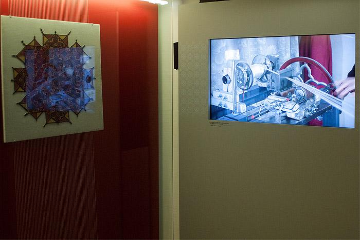 Vídeo sobre la fabricación de sedas en la exposición en París