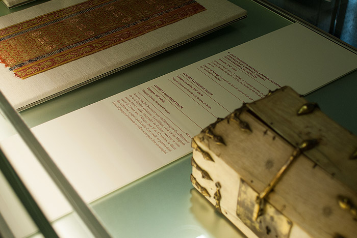 Tejidos y marfiles de al-Ándalus del Museo Lázaro Galdiano.