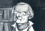 Caricatura de Eduardo Benot por Santana Bonilla (detalle)