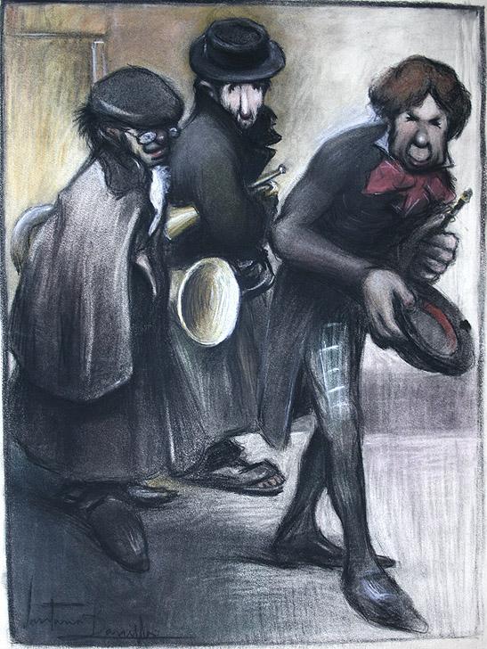 Joaquín Santana Bonilla: ¿Hay algo para los señores profesores?, 1901. Inv. 8866