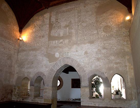 Sala capitular del monasterio de Santa María de Carrizo, Carrizo de la Ribera, León