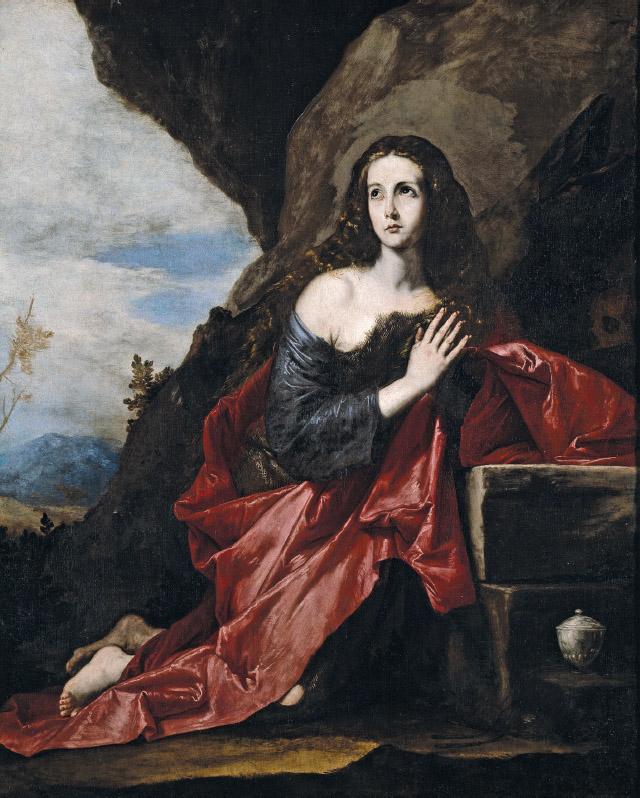 """Jusepe Ribera """"Santa María Magdalena"""" del Museo del Prado"""