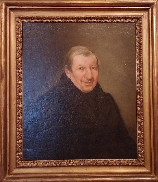 GOYA: Retrato del padre José de la Canal. Museo Lázaro Galdiano