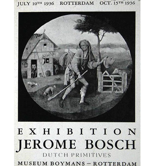 "Exposición ""Jerome Bosch. Dutch Primitives"" en el  Museo Boymans (1936)"