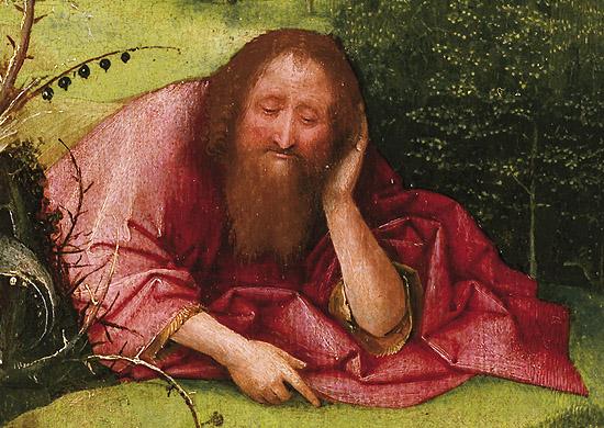 """Detalle de la obra de """"El Bosco"""" conservada en el Museo Lázaro Galdiano de Madrid"""