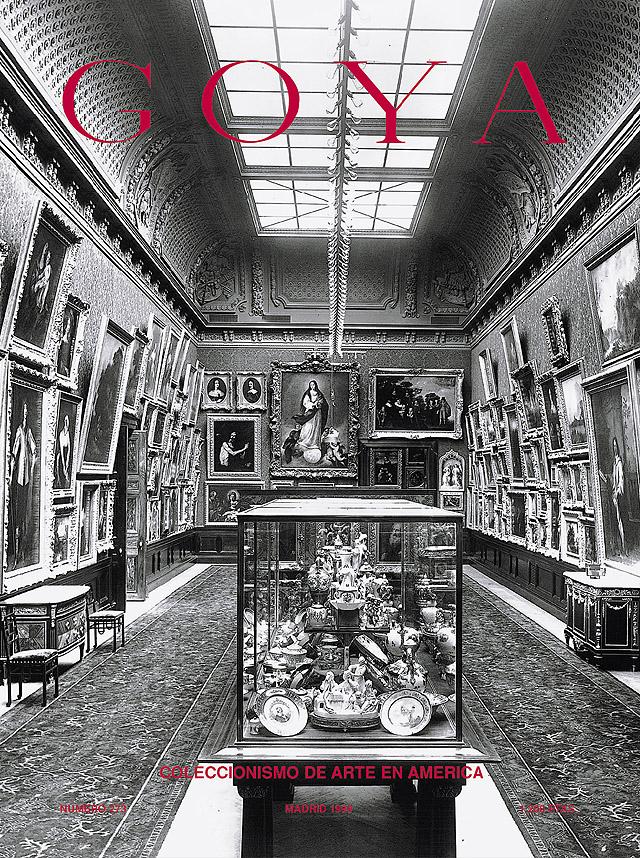 Portada del nº 273 de la revista de arte GOYA dedicada al Coleccionismo en América