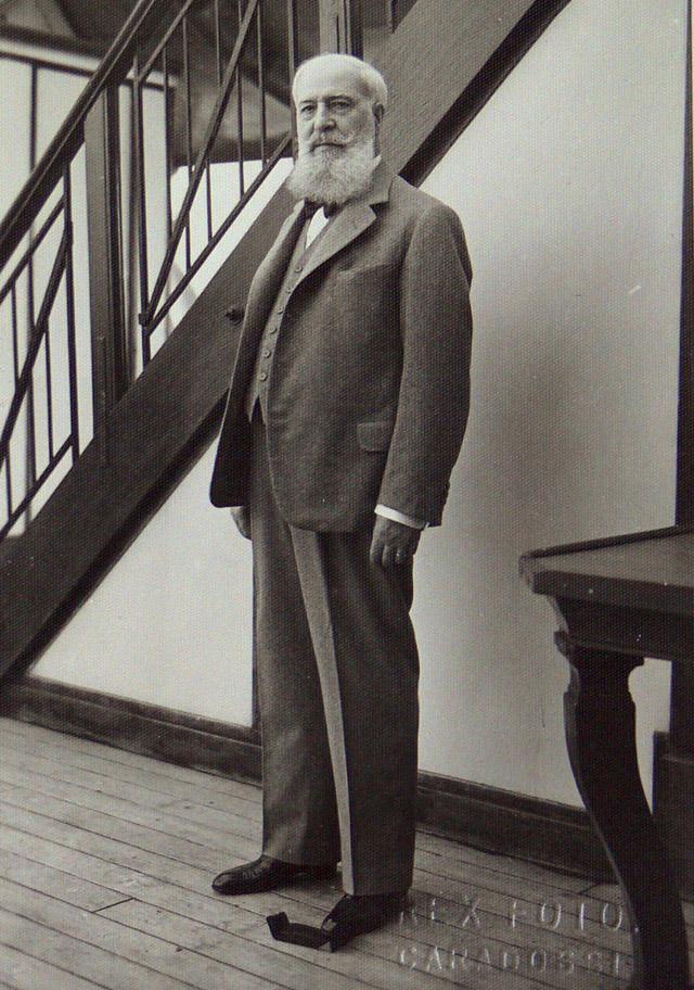 José Lázaro Galdiano durante su viaje a Nueva York