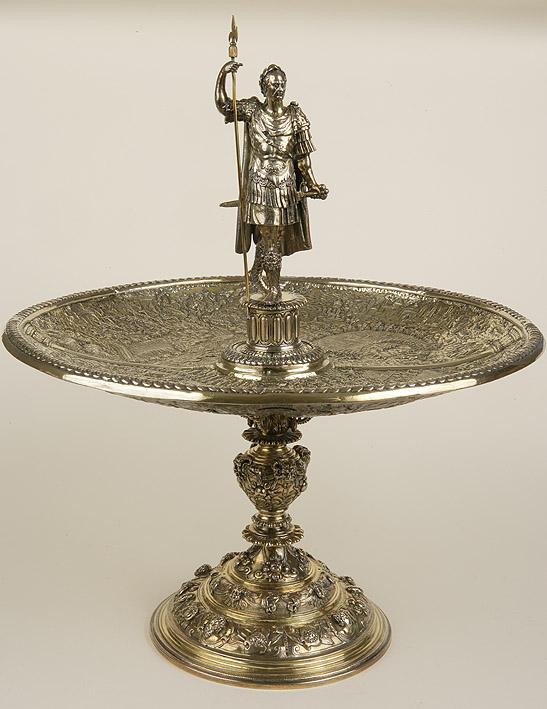 """Taza de Julio César o Taza Aldobrandini"". Roma o Ausburgo, 1570-1580. Plata dorada"