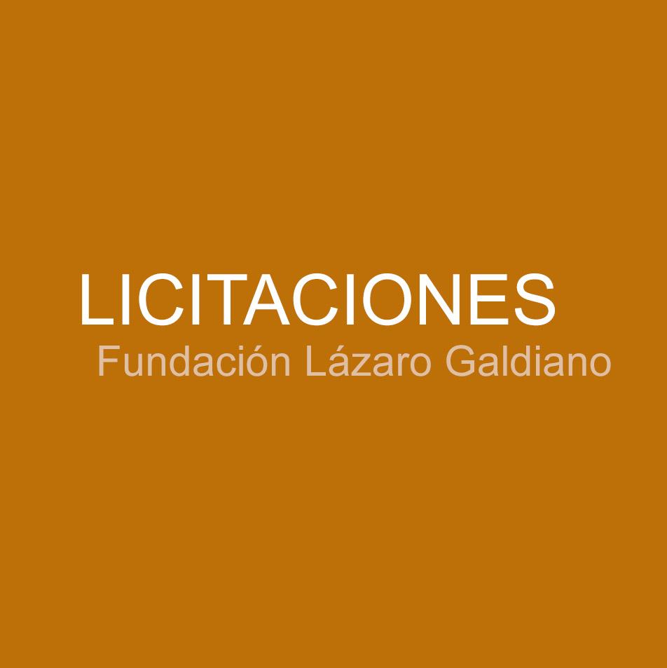 Licitaciones en la Fundación Lázaro Galdiano