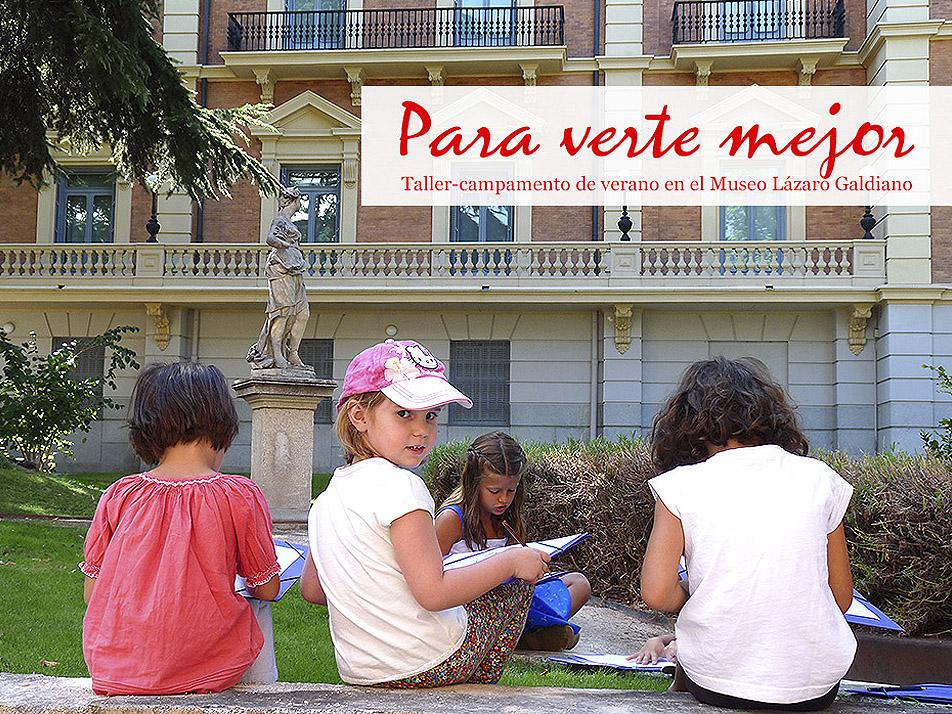Campamento de verano en el Museo Lázaro Galdiano de Madrid
