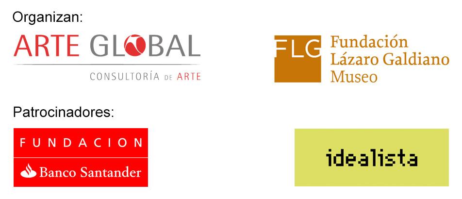 Organizadores y patrocinadores de la exposición de Ballester en el Museo Lázaro Galdiano