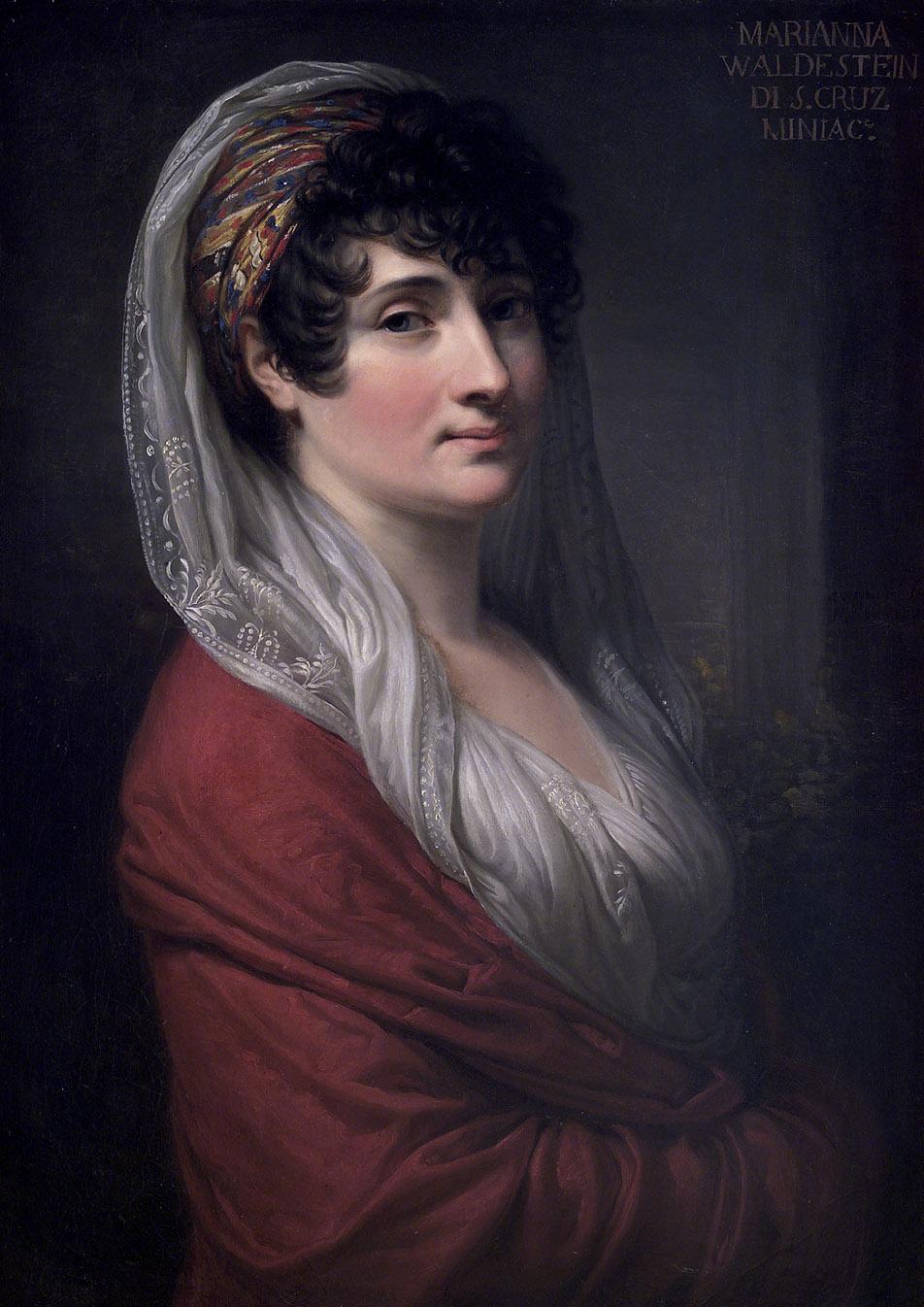 Andrea Appiani: Retrato de la marquesa de Santa Cruz, 1804. Accademia Nazionale di San Luca, Roma.