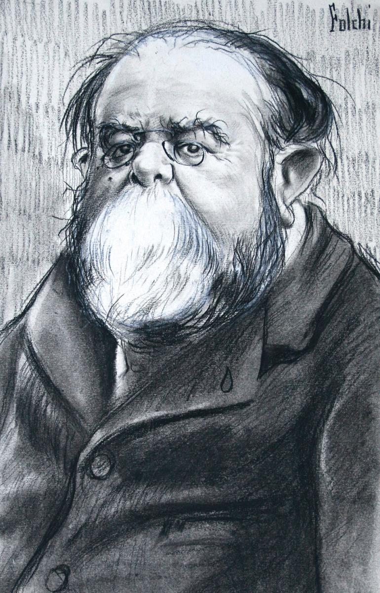 """El ilustrador Manuel González Martí, """"Folchi"""", en el Museo Lázaro Galdiano"""