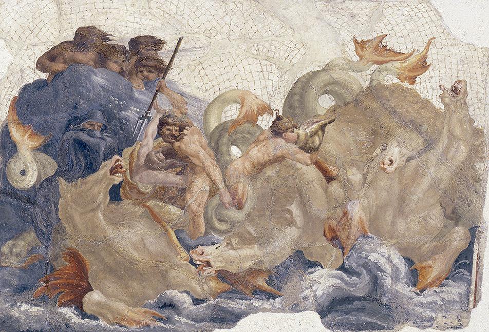 Lelio Orsi: Escenas de diluvio mitológico. Galleria Estense, Módena.