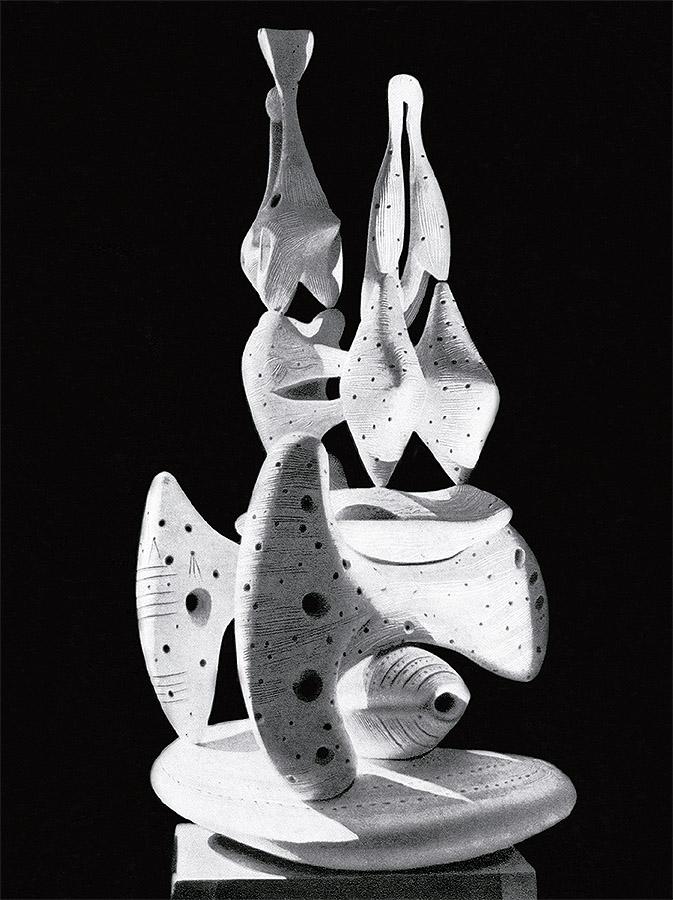 """Monumento a los pájaros"", ca. 1931-1932. Paradero desconocido. (P. Martin, Alberto, Corvina, Budapest, 1964). © Alberto Sánchez. VEGAP, Madrid, 2018."